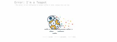 Star Wars Error Pages